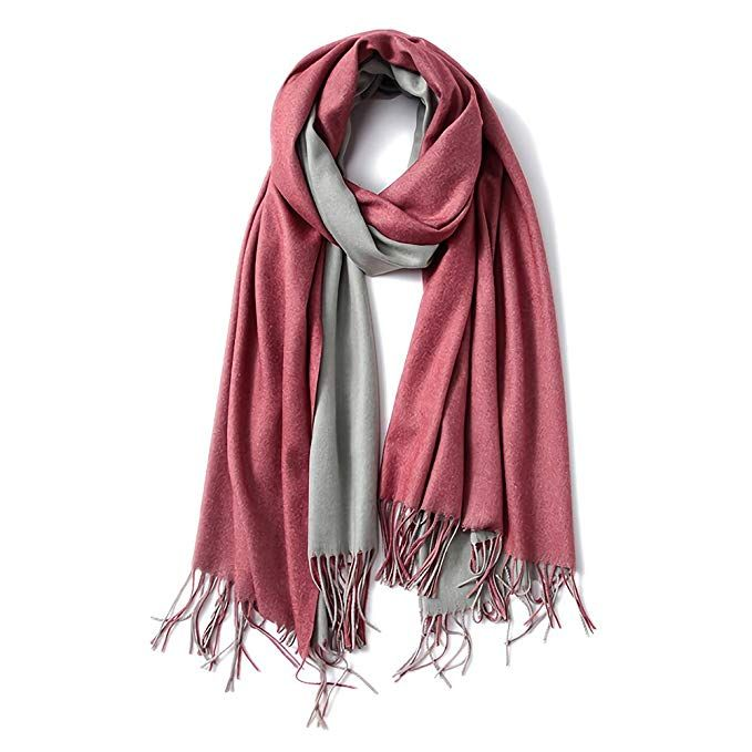 Luxury Women/'s Cashmere Feel Shawl Scarf Wrap Blanket Pashmina Style-Turquoise