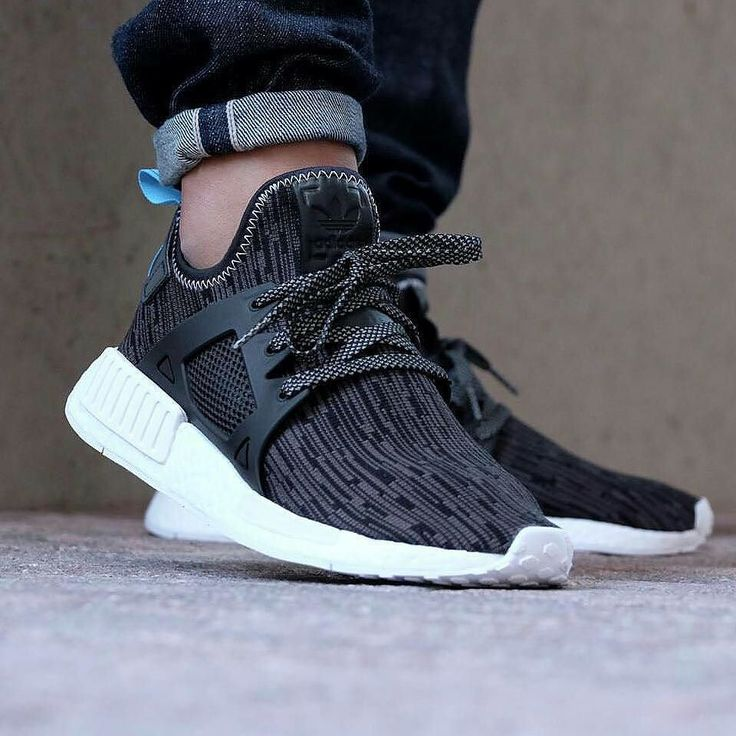 Adidas NMD XR1 Core Black Sky Blue Premium Quality Size = 39-44 Rp 500.000