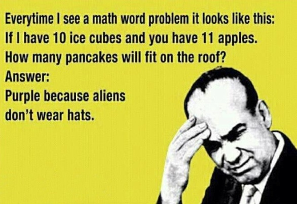 Every math teacher should find this hilarious!