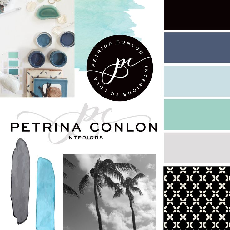 MOOD BOARD for Petrina Conlon Interiors