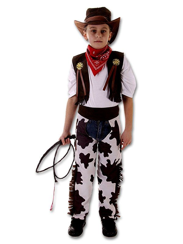 boys kids cowboy outfit fancy dress costume rodeo wild west age 3 4 5 6 7