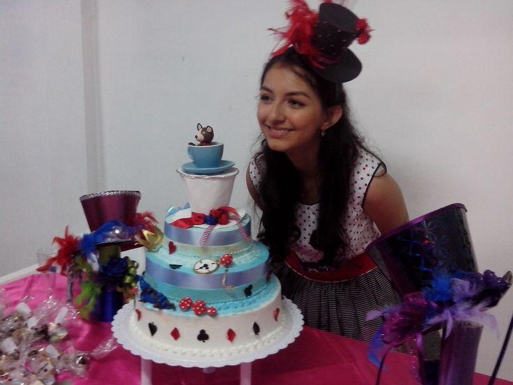 torta quince de mi hija