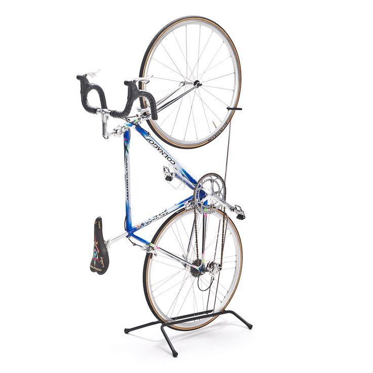 自転車スタンド(縦置き&横置き対応・1台用・バイクスタンド) 800-BYST4の販売商品 | 通販ならサンワダイレクト