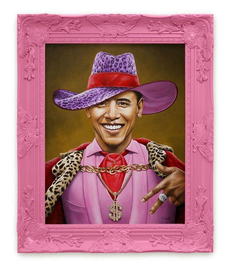 "Scott Scheidly - ""Barack Obama"""