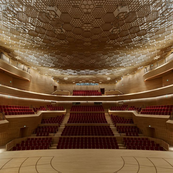Shigeru Ban Architects Europe + Jean de Gastines Architectes.   Find more inspiration at our blog.