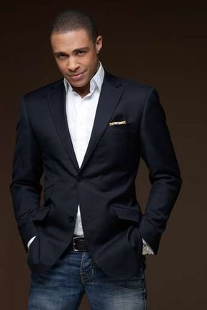 1b6cdd104a3 Something as simple as teaming a black blazer with dark blue jeans can  potentially set you