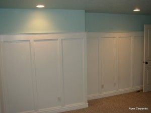 Wainscoting and wall panels give character to your home. craftsman style wainscoting – Carpentry and Home Improvement Ideas