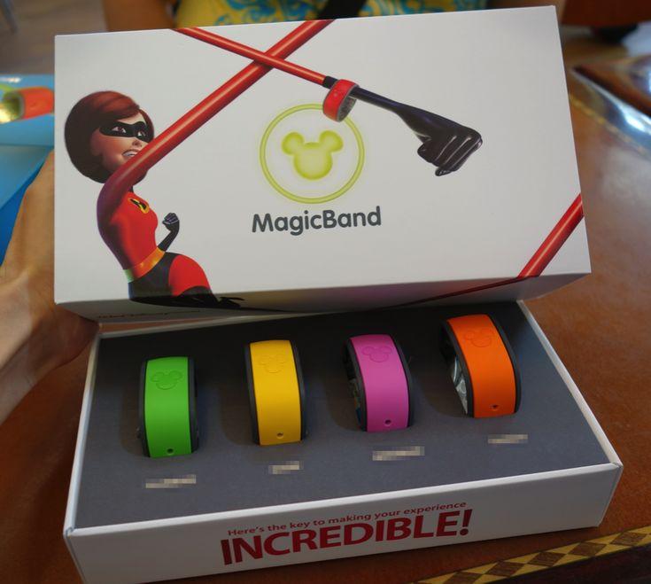 MagicBand ウォルト・ディズニー・ワールドにおいてさまざまな場所、もの、情報へのアクセスに必要な「鍵」
