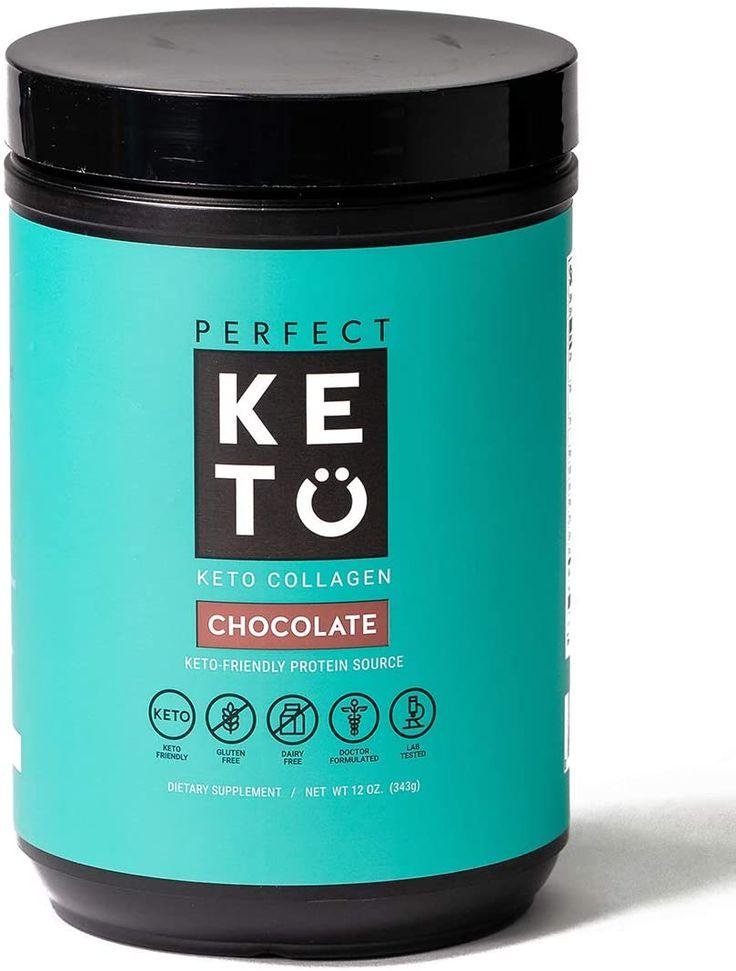 Perfect Keto Collagen In 2020 Keto Protein Powder Dairy Free Smoothies Keto Breakfast Smoothie