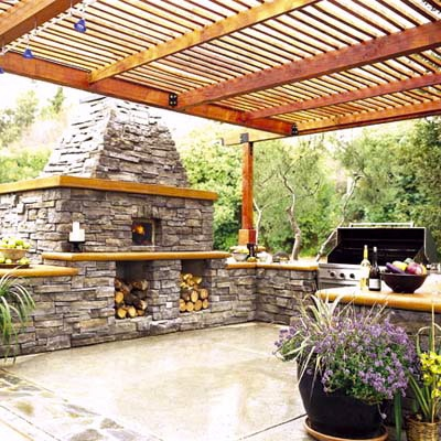 58 best outdoor kitchens images on Pinterest | Outdoor kitchens ...