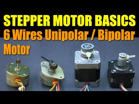 25 best stepper motor arduino ideas on pinterest for Unipolar and bipolar stepper motor