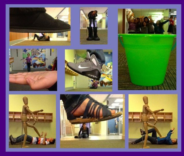 Middle School | Mrs. Gutterman's Art Blog  Forced perspective