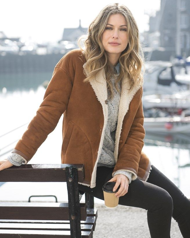 22 best Sheepskin jackets images on Pinterest | Sheepskin jacket ...