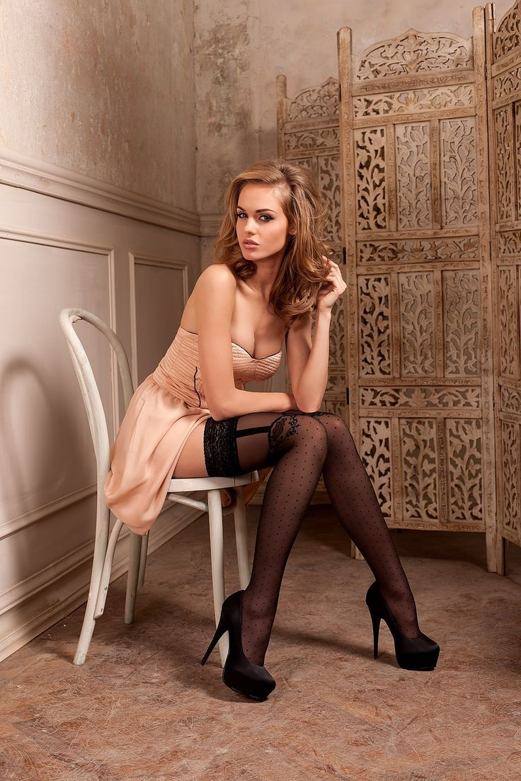 Dare Women in dresses and pantyhose ankles
