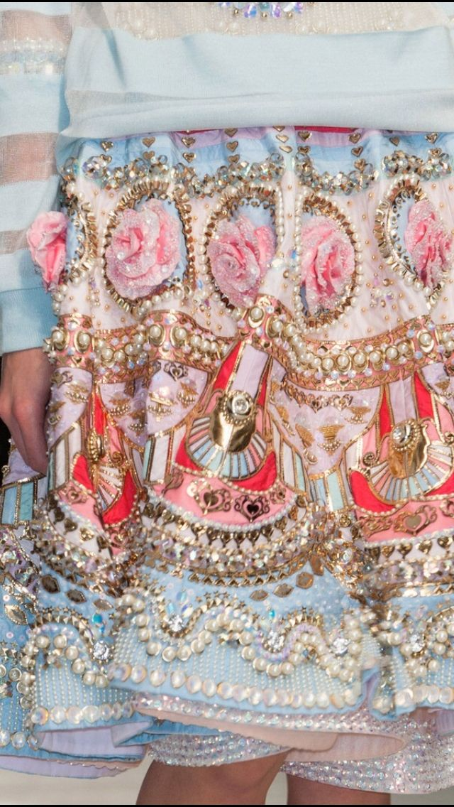 Manish Arora SS 2015 I just want to look at this all day!