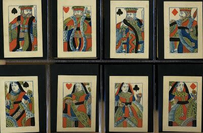 Playing cards and their history: 19: 19th CENTURY BREAKS WITH TRADITION - UNUSUAL VERSIONS OF THE STANDARD ENGLISH PATTERN