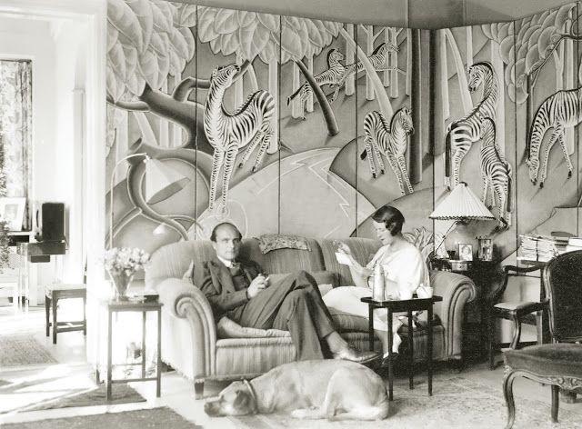 1925, Margaret Dows living in Copenhagen,1932.