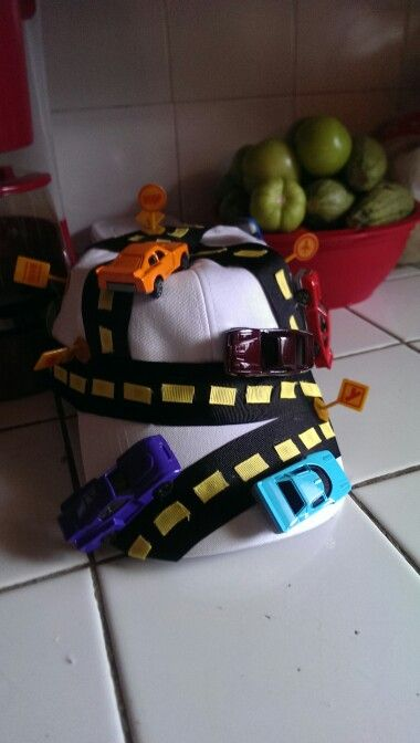 My sons crazy hat!