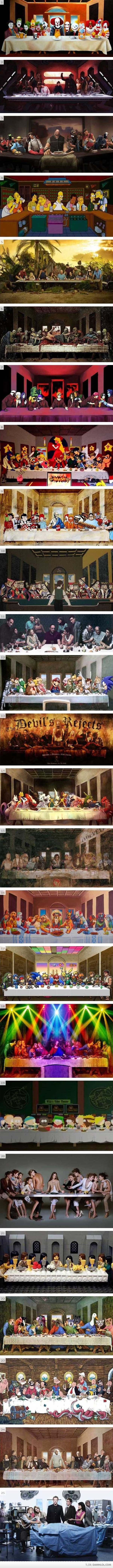 the last supper parodies funny saying gt