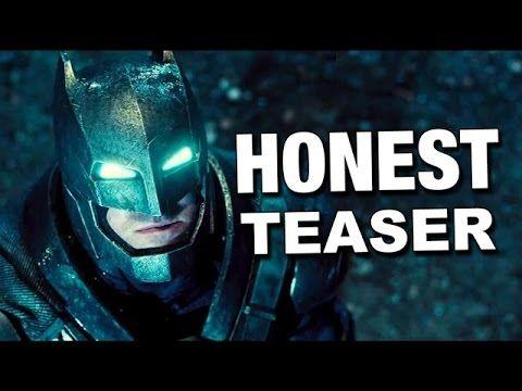 Honest Teaser - Batman v. Superman: Dawn of Justice - YouTube