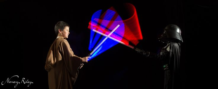 Lessons from lightsabers: timing the flash and focusing « Nancy Riley Photography