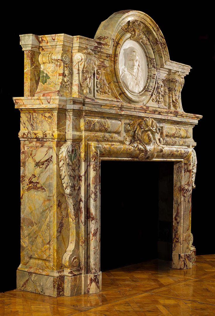 A Rare And Impressive Sarrancolin Opera Marble