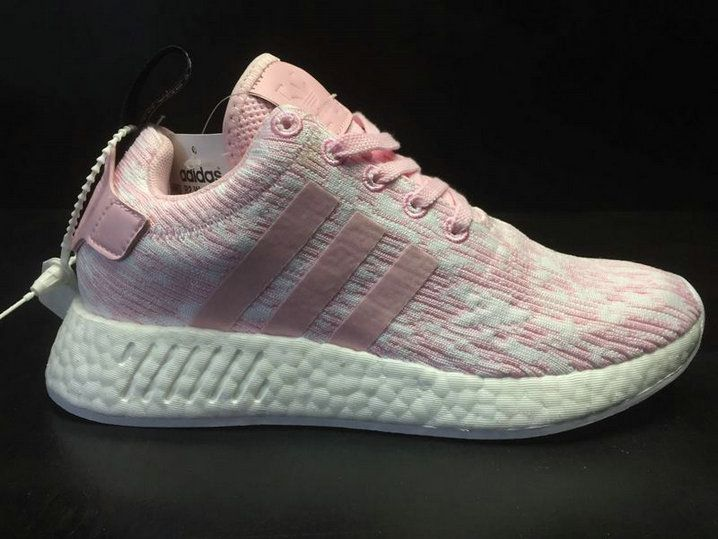 98126ce79 New Arrival 2018 Women Adidas NMD R2 Boost Icy Pink BY9315