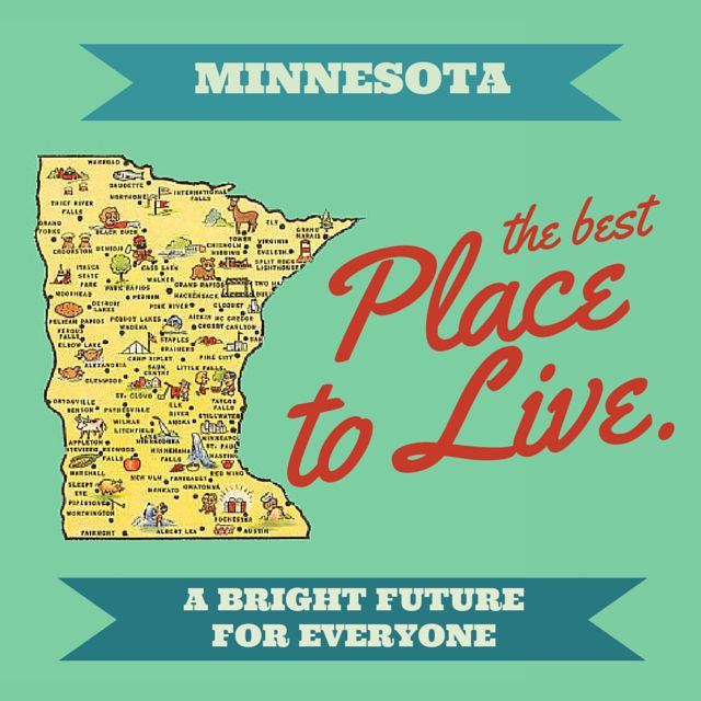 Minnesota recently jumped to the top of POLITICO's definitive ranking of best - and worst - states to live in.  That's just one more reason to thank our state's leaders for their commitment to improving circumstances and ensuring opportunities for every Minnesotan.  Find out more about what makes Minnesota a shining star on Politico's list:  http://www.politico.com/magazine/story/2015/01/the-states-of-our-union-are-not-all-strong-114395_full.html?print#.VM_g0S4w-UT