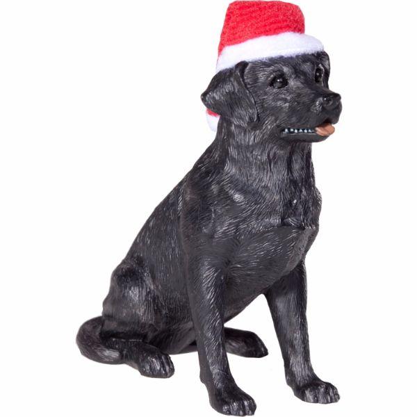Labrador Retriever Christmas Ornament - Black