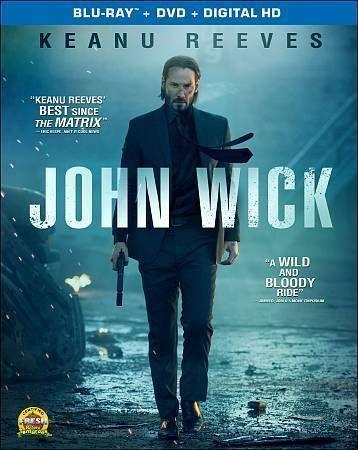 John Wick (Blu-ray/DVD, 2015, 2-Disc Set) in DVDs & Blu-ray Discs | eBay