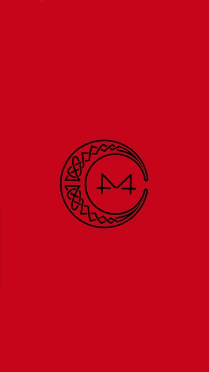 Mamamoo Red Moon Wallpaper Lockscreen Kpop Fondo De Pantalla Wheein Hwasa Solar Moonbyul Mamamoo Kpop Wallpaper Moon Logo