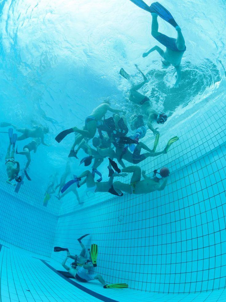 First Asian Team Underwater Rugby #underwaterrugby #fatuwr #singapore