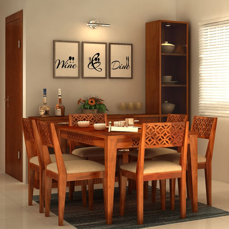 Make Beautiful #memories With Your Loved Ones On This Ocean 6 Seater Dining  Set.
