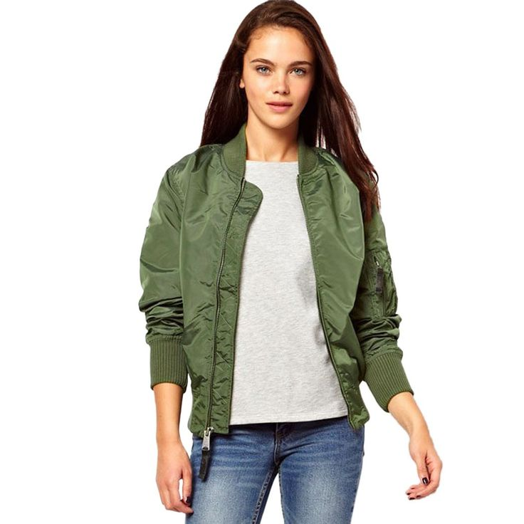 Fashion Spring Ladies Bomber Jackets | Dresscab