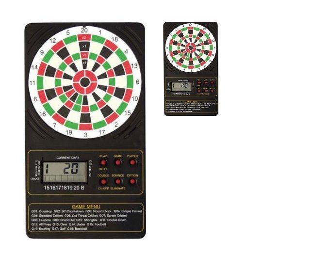 Electronic Single Display Touch Pad Dart Board Scorer AC Adapter DMI Sports New #DMISports