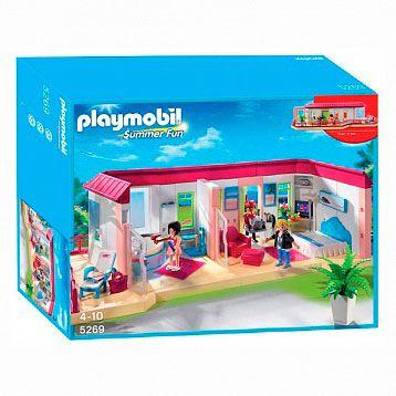 Playmobil 5269 Summer Fun отель номер люкс