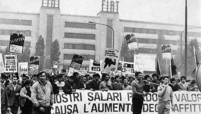 'Lotte in Italia' (presso lo stabilimento Fiat Mirafiori)