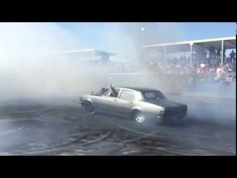 HOLDON does burnout at REDCENTRE NATS