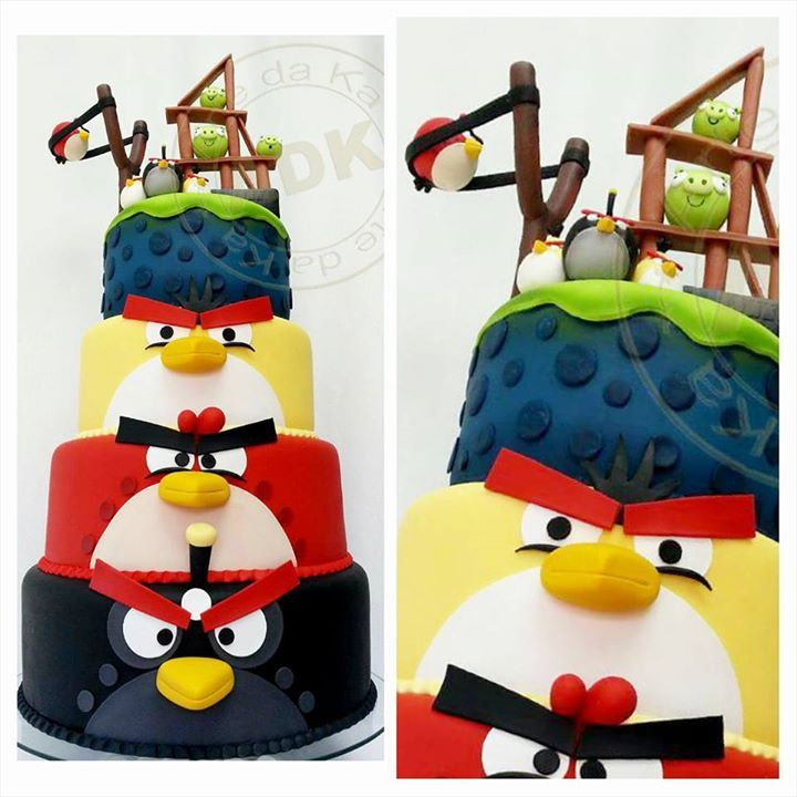 17 Best images about Cakes - Angry Birds on Pinterest ...