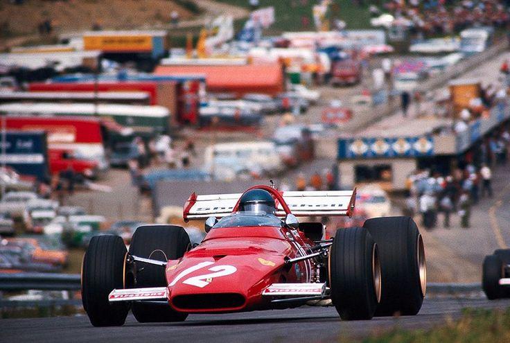 Jacky Ickx in Ferrari 312B at 1970 Austrian Grand Prix