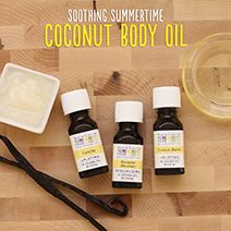Soothing Summertime Coconut Body Oil