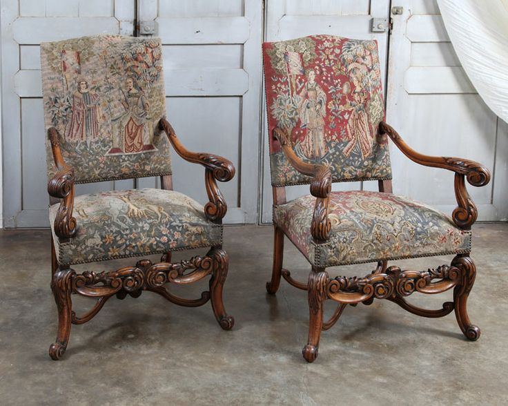 9 best fauteuil d epoque images on Pinterest | Armchairs, Antique ...