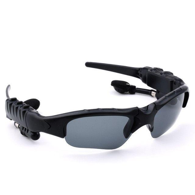Smart Glasses Bluetooth Lunettes De Soleil Outdoor Wireless Headphones Music (Black) , Multicolore