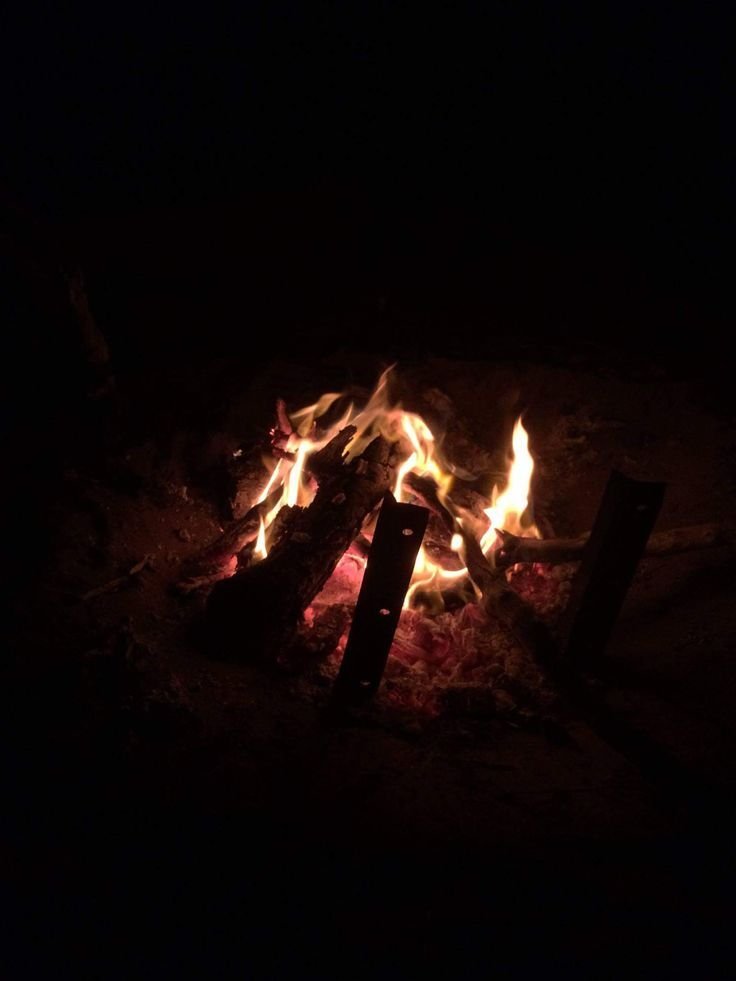 Nothing beats a campfire <3