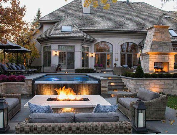 Popular patio garten pool und feuserstelle sitzecke gartenm bel