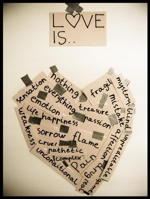 love is....: Love I, Art Therapy, Magazines Art, Domestic Violence, Projects Ideas, Love Sayings, Emotional Intelligence, Group Projects, Art Projects