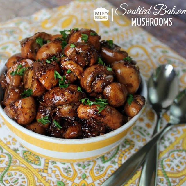 BALSAMIC MUSHROOMS PALEO JUICE Recipe | Delicious   – Recipes