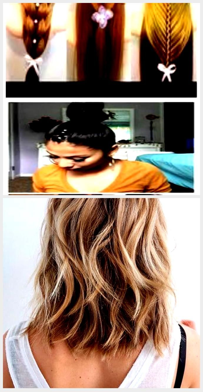 DIY easy hairstyles for medium hair 10 quick hairstyles ...