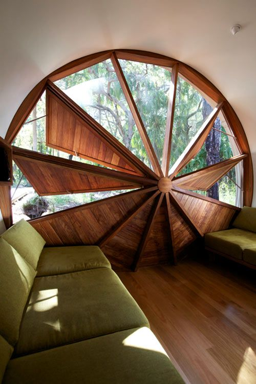 52 best images about tiny house inspiration interior on for Round top windows