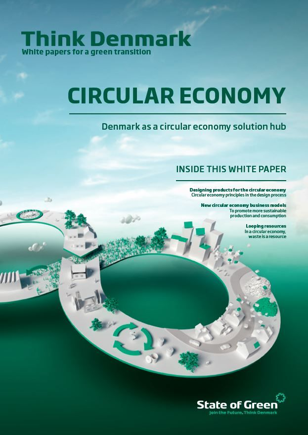 Today, we published a new white paper on 'Denmark as a circular economy hub' made in collaboration with the Danish Ministry of Environment and Food.